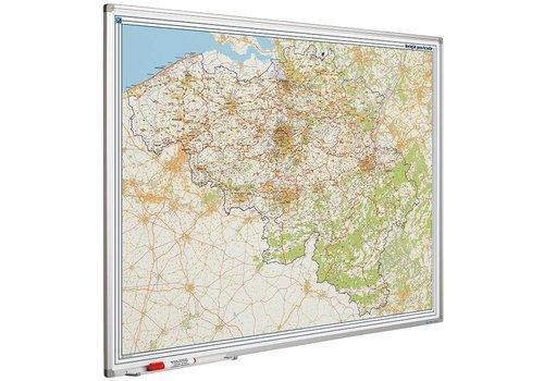 Postcode kaart Belgie
