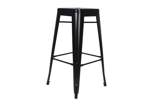 Tolix Bar Stool Black
