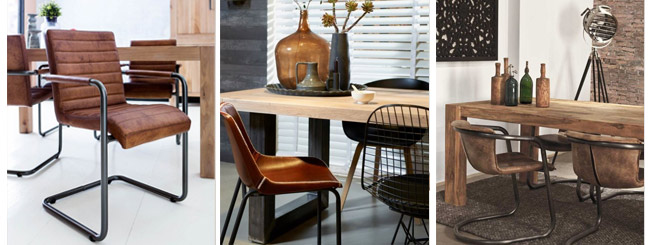 Industrial Design Dining chairs