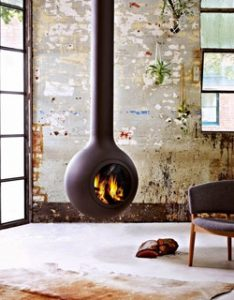 Vintage Design Fireplace