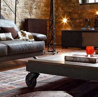 Tips for a rugged and vintage interior