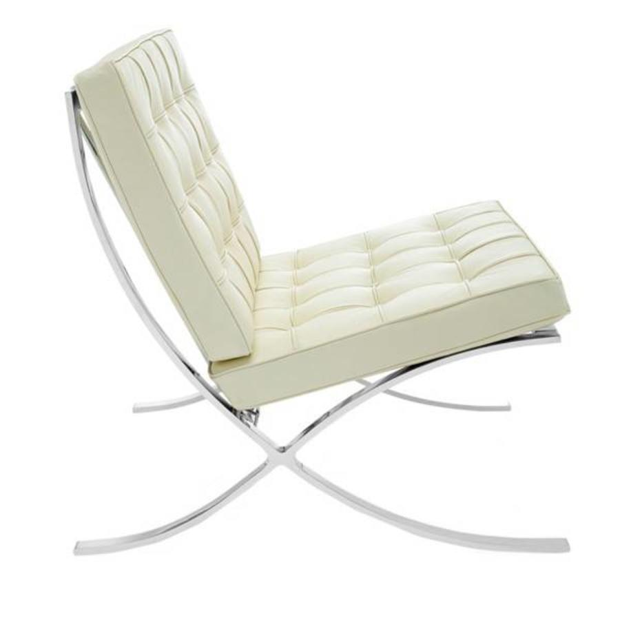 Barcelona Chair Cream - Premium Leather