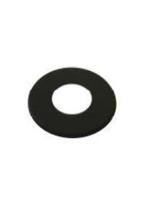 ATI Rozet 183mm zwart rvs