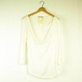 FOREVER 21 WITTE LOSSE T-SHIRT l FOREVER21 | maat S