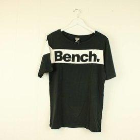 BENCH ZWARTE T-SHIRT MET OPSCHRIFT | BENCH | maat S
