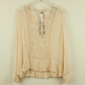 BY TIMO ROZE KANTEN BLOUSE | BY TIMO | maat XS
