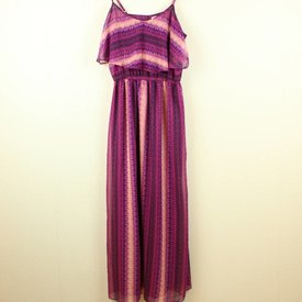 FOREVER 21 GEPRINTE MAXI-DRESS | FOREVER 21 | maat XL