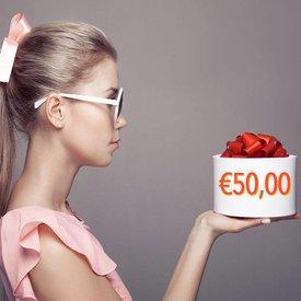 Giftcoupon €50,00