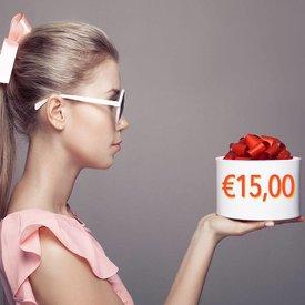 Giftcoupon €15,00