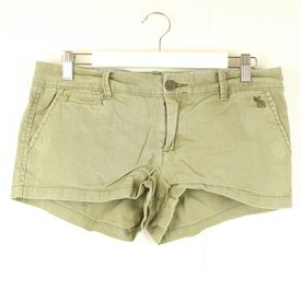 ABERCROMBIE & FITCH KHAKI SHORT | ABERCROMBIE & FITCH | maat 34