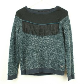 ONLY SWEATER MET FRINGE | ONLY | maat M