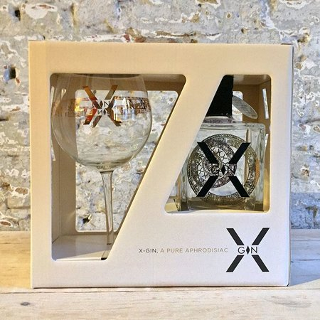 X-GIN bvba X-GIN Gift Pack 44% 50cl