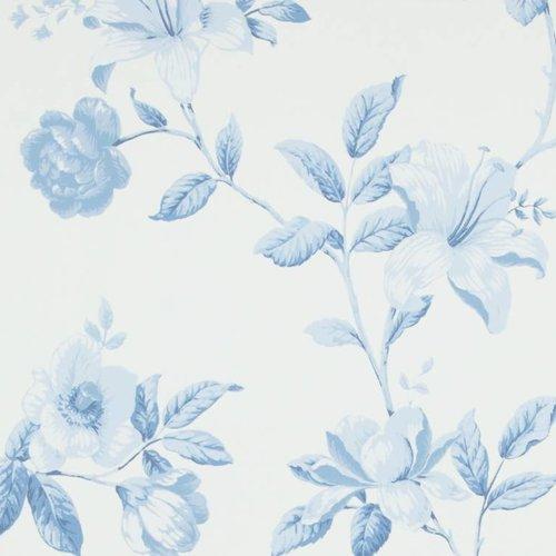 Bomen & bloemen behang
