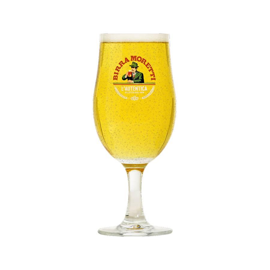 Buy Birra Moretti Glass