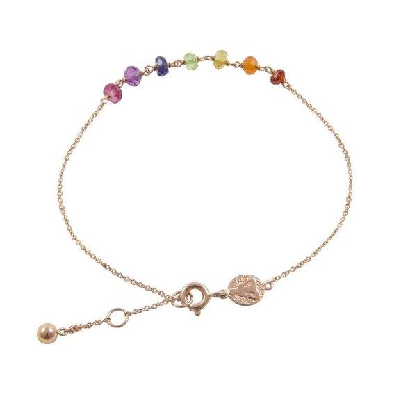 7 Stones chakra bracelet<br /> Stones bracelet