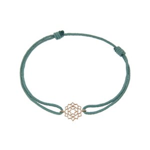 Chakra bracelet on thread Love/Anahata
