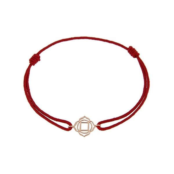 Chakra bracelet on thread Roots/Muladhara