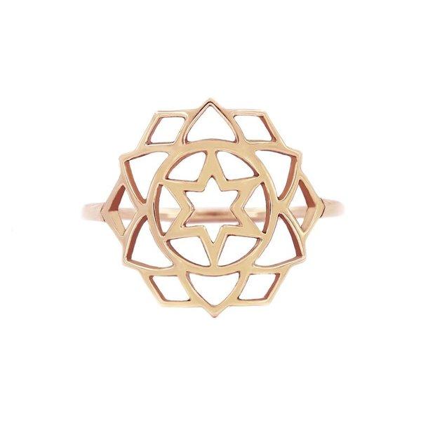 Medium chakra ring Love/Anahata