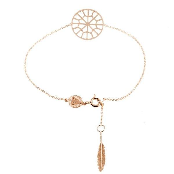Sweet web dreamcatcher bracelet