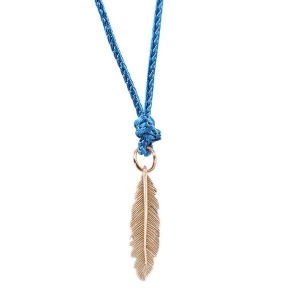 Feather pendant