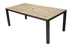 "TAHITI POLYTEAK DINING TABLE 87x40x30"""