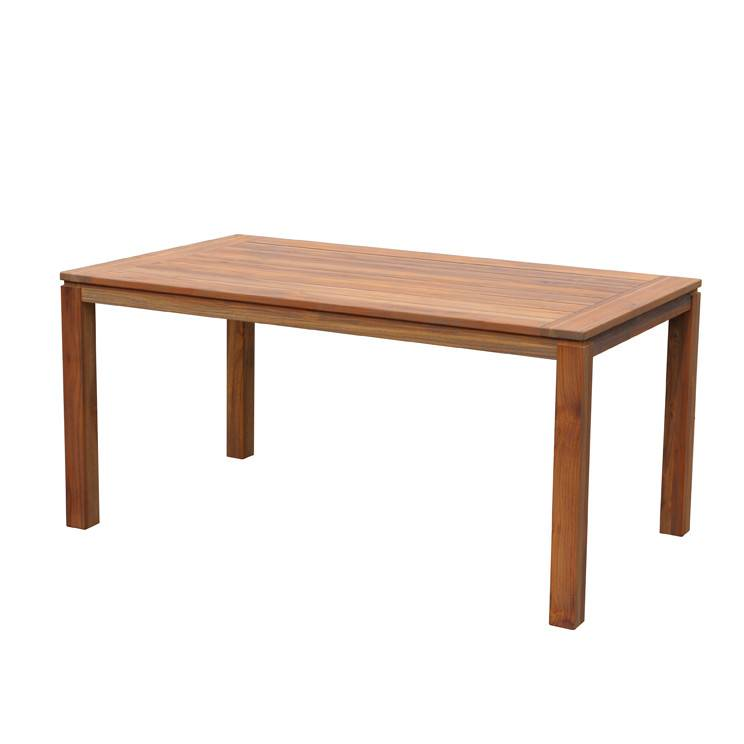 "NEW VINTAGE TEAK CONDO DINING TABLE 63x35.5x30"""