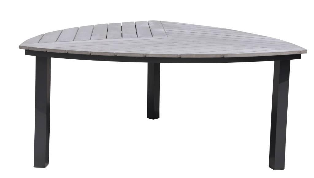 "Lounge Factory TAHITI POLYTEAK DIAMOND DINING TABLE 67x67x30"""