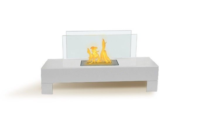 Anywhere Fireplace Gramercy White Fireplace