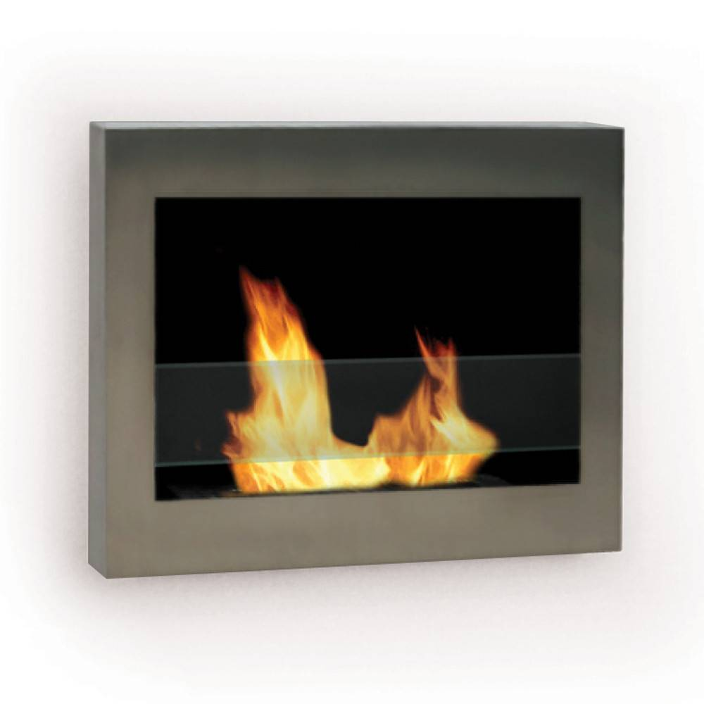 Anywhere Fireplace SoHo Stainless Fireplace