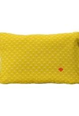 """Fermob Pasteques Cushion Honey 17""""x12"""""""