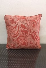 "Gotcha Covered Swirl Rust 22"" Pillow"