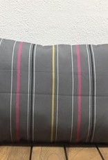 Gotcha Covered Grey w/Pink & Yellow Stripe Lumbar
