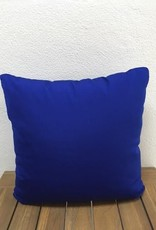 "Gotcha Covered Canvas True Blue 17"" Pillow"