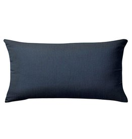 "Sunset West USA Spectrum Indigo Lumbar Pillow 9""x22"""