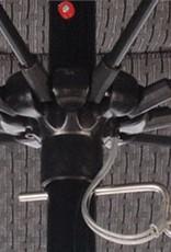 California Umbrella 9' Fiberglass Rib/Bronze/Lift System/Pacifica Natural Umbrella