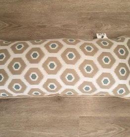 """Sunset West USA Canvas Spa Dots Lumbar Pillow 9""""x22"""""""
