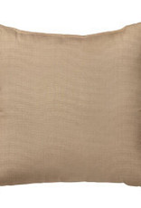 "Heather Beige Sunbrella 16"" Pillow"