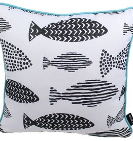 Lava Pillows Fish One 18x18