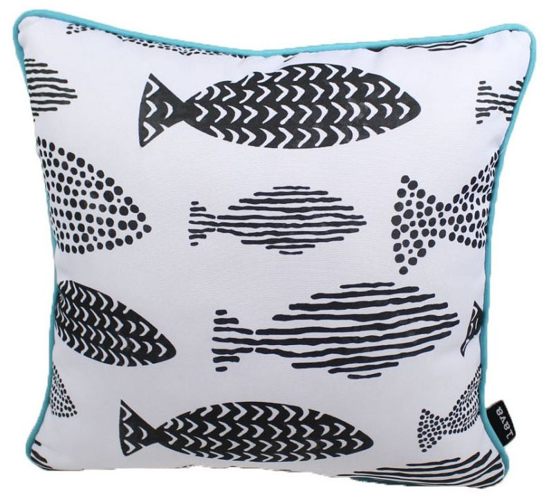 Lava Pillows Fish One 18x18