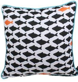Lava Pillows Fish Three 18x18