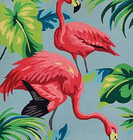 "Couristan Covington Flamingos Multi 5'6""x8'"