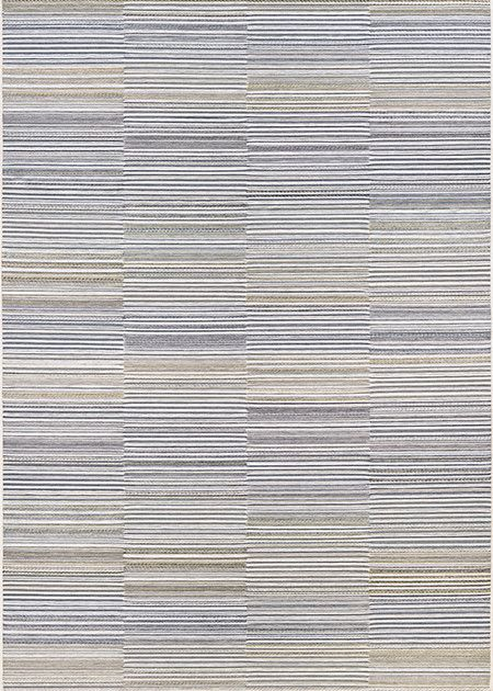 """Couristan Cape Shoreham Ivory/Charcoal 6'6""""x9'6"""""""