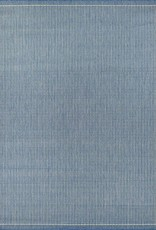 "Couristan Recife Saddlestitch Champagne/Blue 2'3""x7'10"""