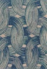 "Loloi NEWPORT NP-01 BLUE/TEAL 5'3""X7'7"""
