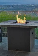 Real Flame Salida Square LP Firetable - Grey