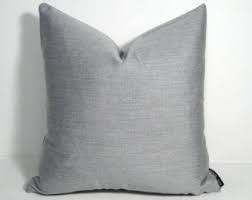 "Gotcha Covered Texture Silver Grey Sunbrella 20"" Pillow"