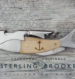 Sterling Brooke CO. Double Hinged - Anchor