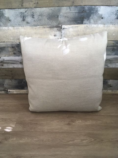 "Gotcha Covered Silver Grey Sunbrella 22"" Pillow"