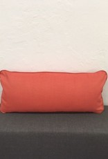 "Echo Sangria Lumbar Pillow 9""x22"""