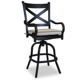 Sunset West USA MONTEREY SWIVEL BARSTOOL/COUNTER STOOL (GRADE A FABRIC)